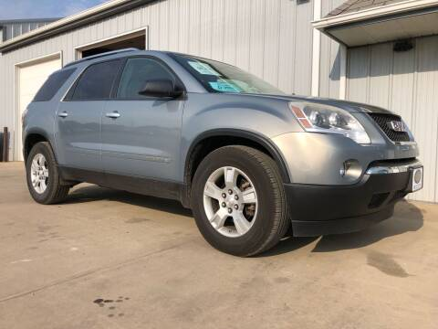 2008 GMC Acadia for sale at BERG AUTO MALL & TRUCKING INC in Beresford SD