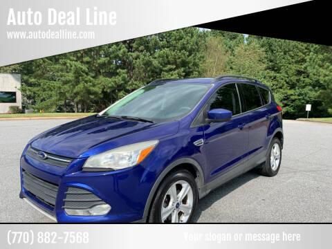 2014 Ford Escape for sale at Auto Deal Line in Alpharetta GA