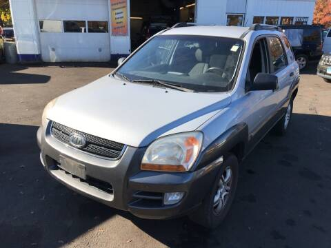 2008 Kia Sportage for sale at Vuolo Auto Sales in North Haven CT