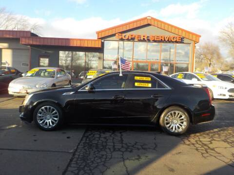 2010 Cadillac CTS for sale at Super Service Used Cars in Milwaukee WI