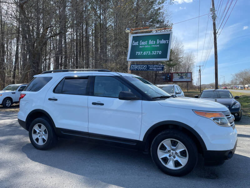 2013 Ford Explorer for sale at East Coast Auto Brokers in Chesapeake VA