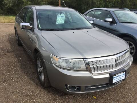 2008 Lincoln MKZ for sale at BARNES AUTO SALES in Mandan ND