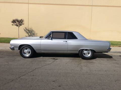 1965 Chevrolet Malibu for sale at HIGH-LINE MOTOR SPORTS in Brea CA