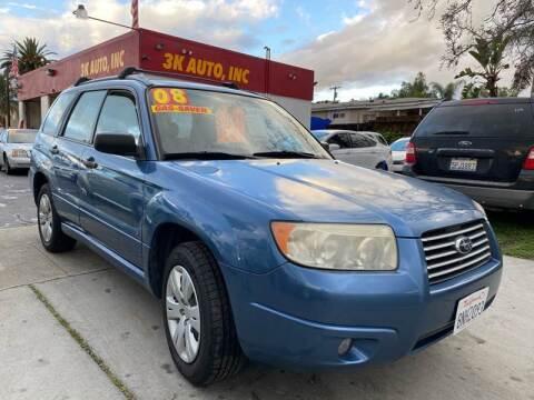 2008 Subaru Forester for sale at 3K Auto in Escondido CA