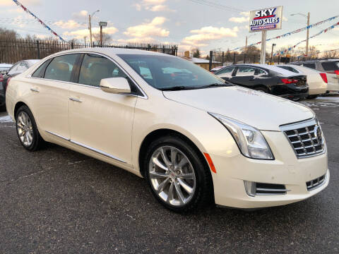 2013 Cadillac XTS for sale at SKY AUTO SALES in Detroit MI