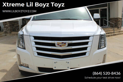 2016 Cadillac Escalade for sale at Xtreme Lil Boyz Toyz in Greenville SC
