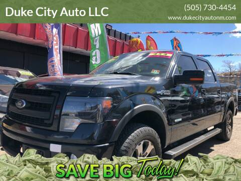2013 Ford F-150 for sale at Duke City Auto LLC in Gallup NM