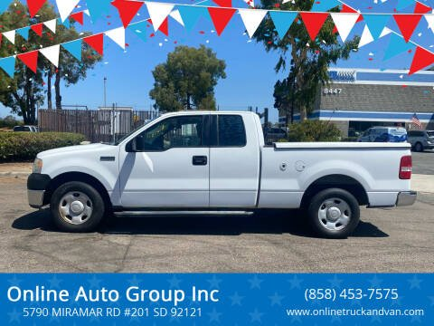 2006 Ford F-150 for sale at Online Auto Group Inc in San Diego CA