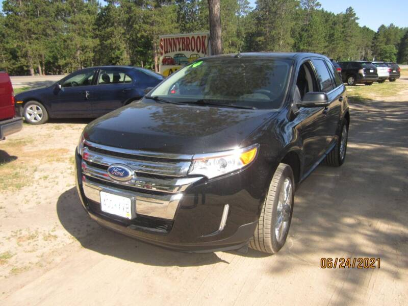 2014 Ford Edge for sale at SUNNYBROOK USED CARS in Menahga MN