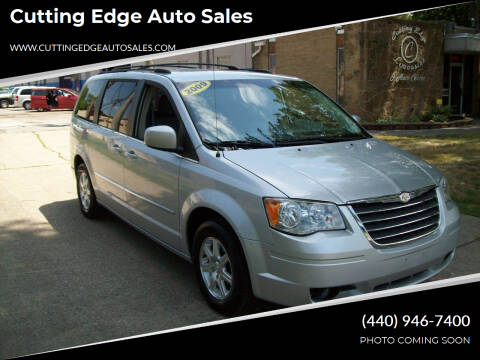 2009 Chrysler Town and Country for sale at Cutting Edge Auto Sales in Willoughby OH