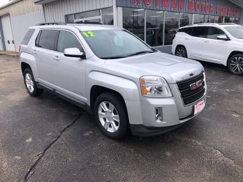 2012 GMC Terrain for sale at ROTMAN MOTOR CO in Maquoketa IA
