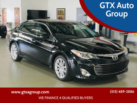 2013 Toyota Avalon for sale at GTX Auto Group in West Chester OH