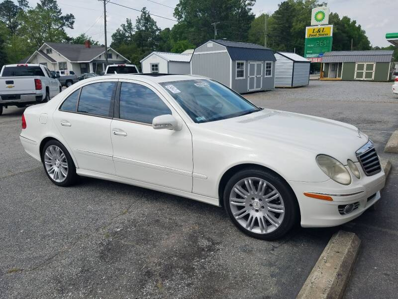 2007 Mercedes-Benz E-Class for sale at Rocky Mount Motors in Battleboro NC