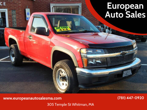 2006 Chevrolet Colorado for sale at European Auto Sales in Whitman MA
