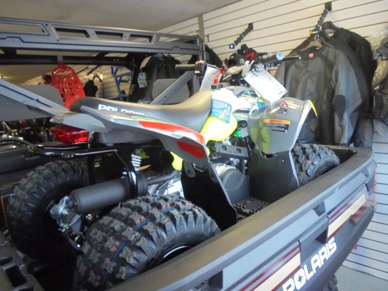 2019 Polaris Industries Outlaw 50 for sale at CYCLE SHACK CARS in Rome NY