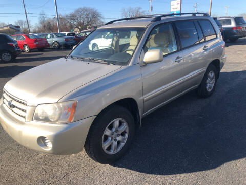 2002 Toyota Highlander for sale at Prospect Auto Mart in Peoria IL