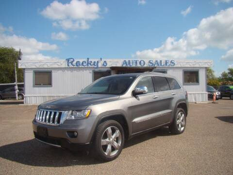 2012 Jeep Grand Cherokee for sale at Rocky's Auto Sales in Corpus Christi TX