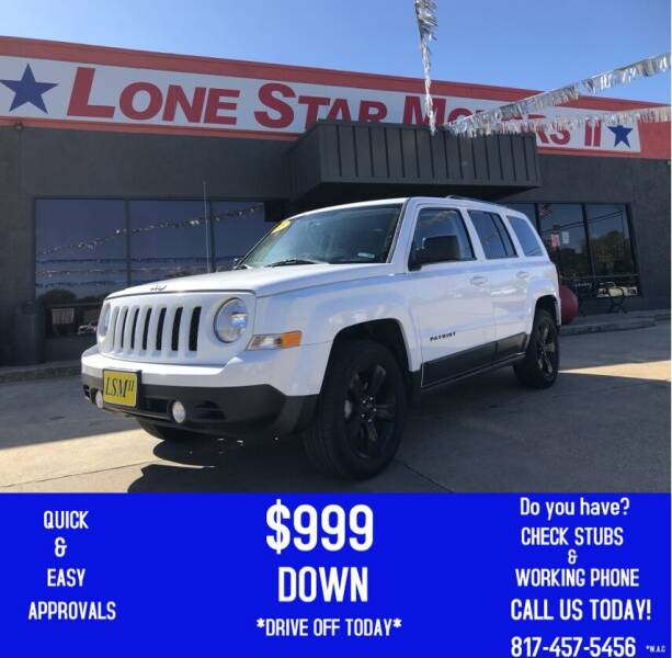 2015 Jeep Patriot for sale at LONE STAR MOTORS II in Fort Worth TX