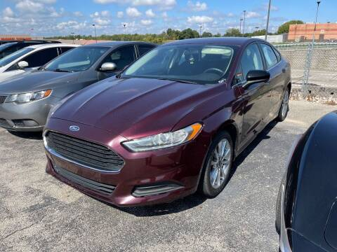 2017 Ford Fusion for sale at Greg's Auto Sales in Poplar Bluff MO