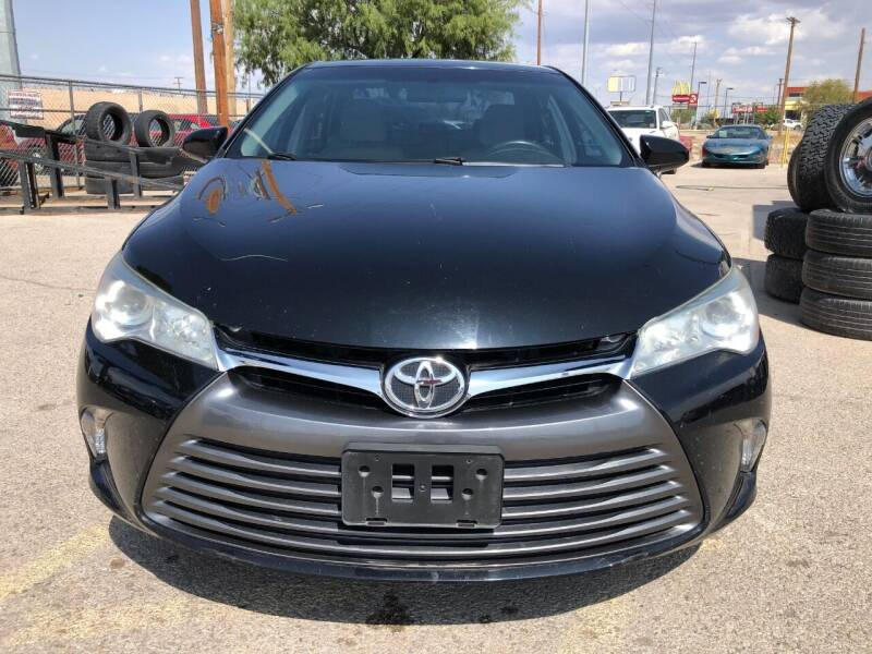2016 Toyota Camry for sale at Eastside Auto Sales in El Paso TX