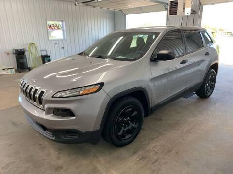 2017 Jeep Cherokee for sale at Bennett Motors, Inc. in Mayfield KY