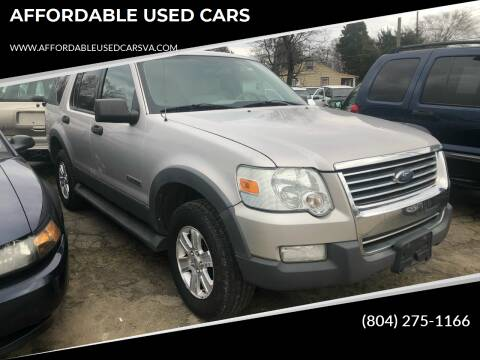 2000 Ford Explorer for sale at AFFORDABLE USED CARS in Richmond VA