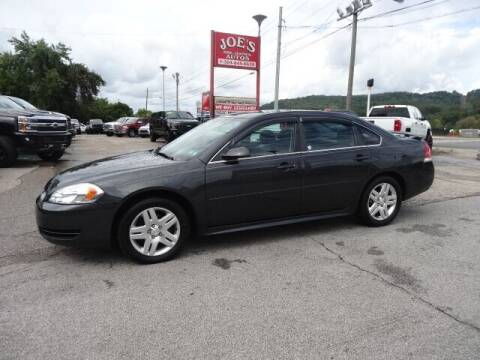 2012 Chevrolet Impala for sale at Joe's Preowned Autos in Moundsville WV