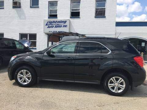 2012 Chevrolet Equinox for sale at Lightning Auto Sales in Springfield IL