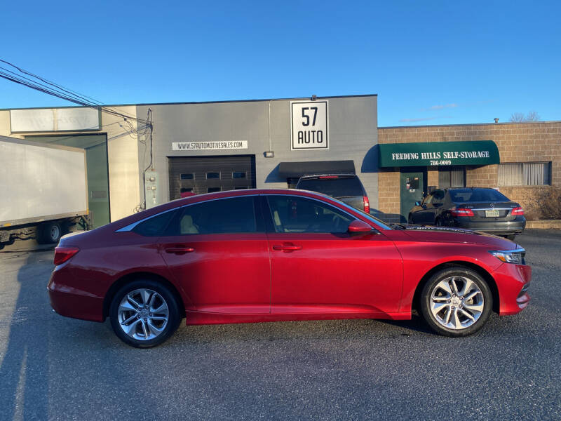 2018 Honda Accord for sale at 57 AUTO in Feeding Hills MA