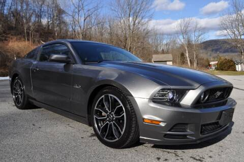 2013 Ford Mustang for sale at CAR TRADE in Slatington PA