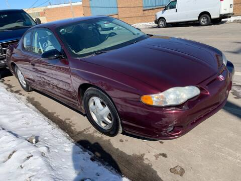 2004 Chevrolet Monte Carlo for sale at Square Business Automotive in Milwaukee WI