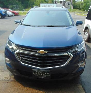 2019 Chevrolet Equinox for sale at Greg's Auto Sales in Searsport ME