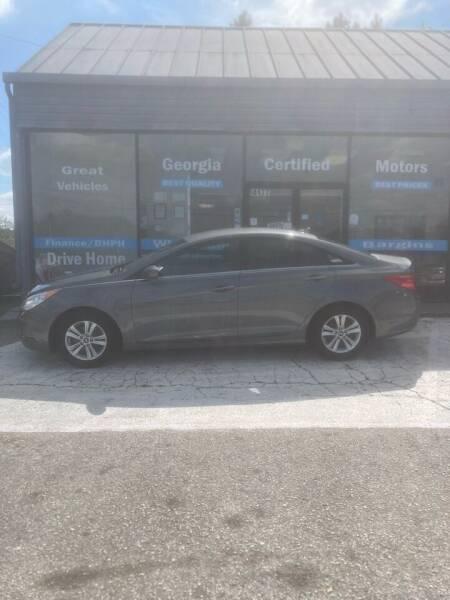 2013 Hyundai Sonata for sale at Georgia Certified Motors in Stockbridge GA
