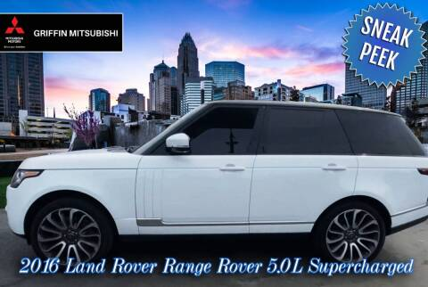 2016 Land Rover Range Rover for sale at Griffin Mitsubishi in Monroe NC