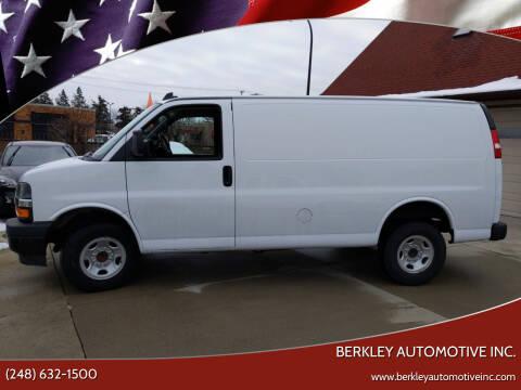 2018 Chevrolet Express Cargo for sale at Berkley Automotive Inc. in Berkley MI