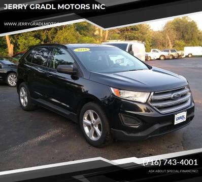 2016 Ford Edge for sale at JERRY GRADL MOTORS INC in North Tonawanda NY
