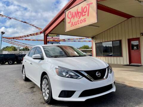 2016 Nissan Sentra for sale at Sandlot Autos in Tyler TX