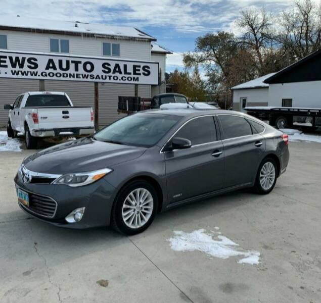 2013 Toyota Avalon Hybrid for sale at GOOD NEWS AUTO SALES in Fargo ND
