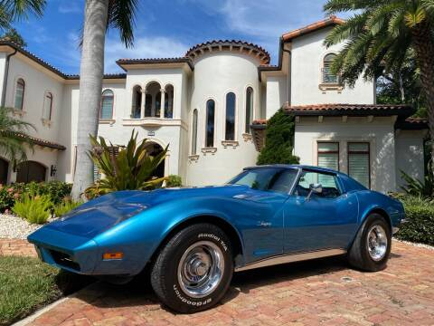 1973 Chevrolet Corvette for sale at Mirabella Motors in Tampa FL