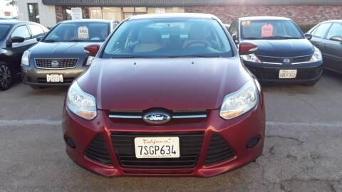 2014 Ford Focus for sale at Goleta Motors in Goleta CA