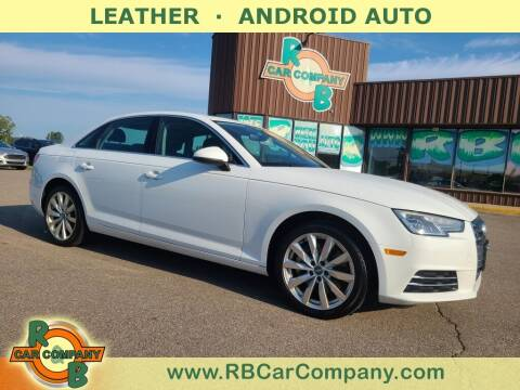 2017 Audi A4 for sale at R & B Car Co in Warsaw IN