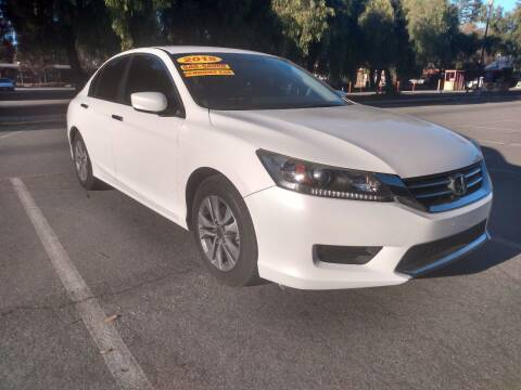 2015 Honda Accord for sale at ALL CREDIT AUTO SALES in San Jose CA