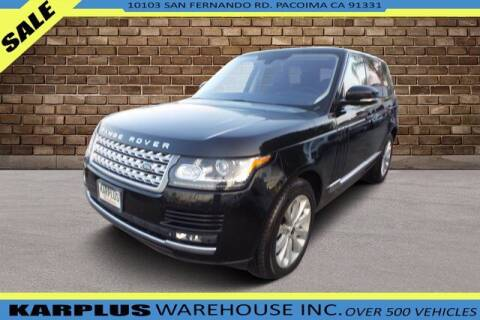 2013 Land Rover Range Rover for sale at Karplus Warehouse in Pacoima CA