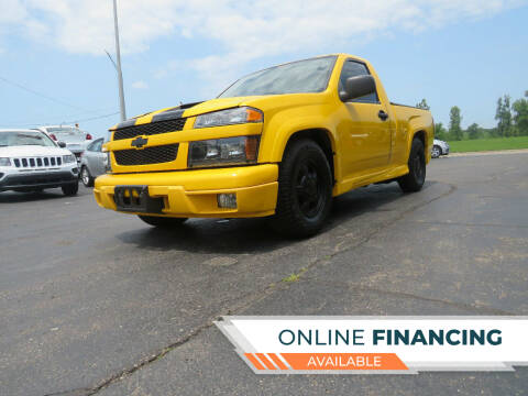 2006 Chevrolet Colorado for sale at A to Z Auto Financing in Waterford MI