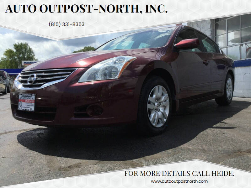 2012 Nissan Altima for sale at Auto Outpost-North, Inc. in McHenry IL