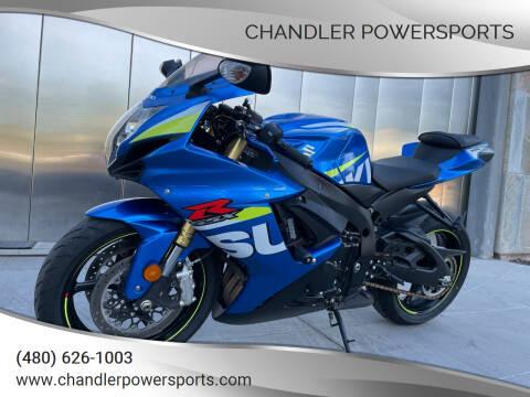 2016 Suzuki GSX-R600 for sale at Chandler Powersports in Chandler AZ