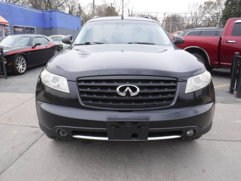 2008 Infiniti FX35 for sale at City Motors Auto Sale LLC in Redford MI