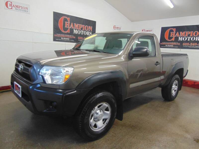 2012 Toyota Tacoma for sale at Champion Motors in Amherst NH