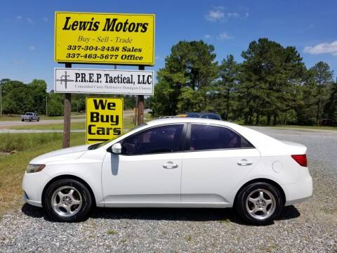 2010 Kia Forte for sale at Lewis Motors LLC in Deridder LA