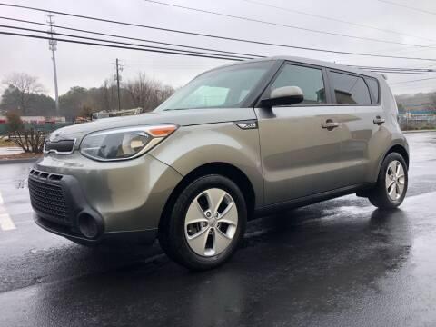 2016 Kia Soul for sale at GTO United Auto Sales LLC in Lawrenceville GA